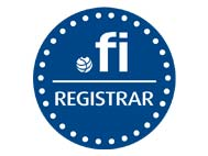 FICORA - Dominiando is an accredited Registrar of the domain authority. fi